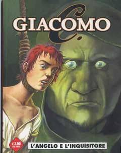 Copertina GIACOMO C. (m7) n.4 - L'ANGELO E L'INQUISITORE, COSMO EDITORIALE