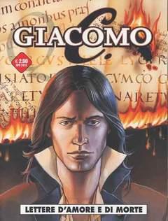 Copertina GIACOMO C. (m7) n.6 - LETTERE D'AMORE E DI MORTE, COSMO EDITORIALE