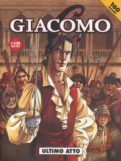 Copertina GIACOMO C. (m7) n.7 - LA FUGA, COSMO EDITORIALE