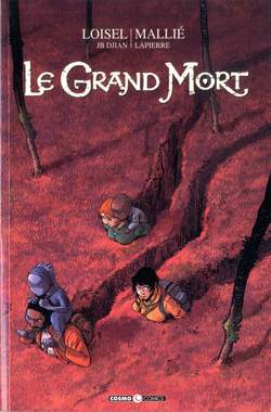 Copertina GRAND MORT n.4 - LE GRAND MORT, COSMO EDITORIALE