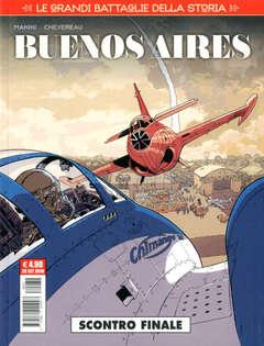 Copertina GRANDI BATTAGLIE DELLA STORIA n.12 - BUENOS AIRES, COSMO EDITORIALE