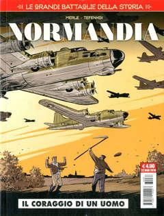 Copertina GRANDI BATTAGLIE DELLA STORIA n.6 - NORMANDIA, COSMO EDITORIALE