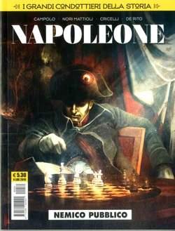 Copertina GRANDI CONDOTTIERI DELLA... n.2 - NAPOLEONE, COSMO EDITORIALE