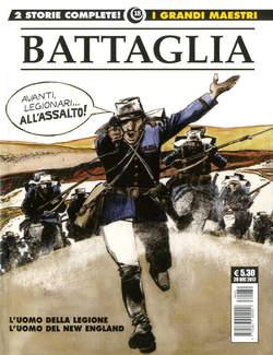 Copertina GRANDI MAESTRI n.18 - DINO BATTAGLIA: L'UOMO DELLA LEGIONE/L'UOMO DEL..., COSMO EDITORIALE