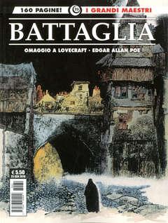 Copertina GRANDI MAESTRI n.19 - DINO BATTAGLIA: GOLEM - EDGAR ALLAN POE, COSMO EDITORIALE