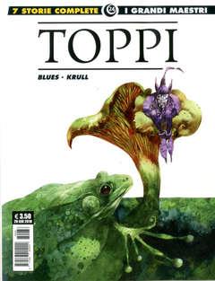 Copertina GRANDI MAESTRI n.24 - TOPPI: BLUES/KRULL, COSMO EDITORIALE