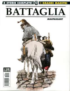 Copertina GRANDI MAESTRI n.26 - DINO BATTAGLIA: MAUPASSANT, COSMO EDITORIALE
