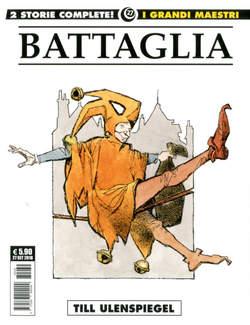 Copertina GRANDI MAESTRI n.27 - DINO BATTAGLIA 7: TILL ULENSPIEGEL, COSMO EDITORIALE