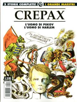 Copertina GRANDI MAESTRI n.28 - CREPAX: L'UOMO DI PSKOV/L'UOMO DI HARLEM, COSMO EDITORIALE