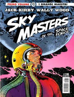 Copertina GRANDI MAESTRI n.62 - SKY MASTERS OF THE SPACE FORCE, COSMO EDITORIALE