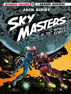 Copertina GRANDI MAESTRI n.63 - SKY MASTERS OF THE SPACE FORCE 2, COSMO EDITORIALE