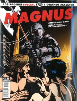 Copertina GRANDI MAESTRI SPECIALE n.16 - MAGNUS: NOVELLE EROTICHE: MEZZANOTTE DI MORTE..., COSMO EDITORIALE