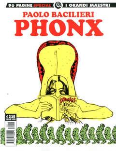 Copertina GRANDI MAESTRI SPECIALE n.17 - PAOLO BACILIERI: PHONX, COSMO EDITORIALE