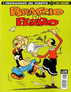 Copertina GRANDI MAESTRI SPECIALE n.55 - I CAPOLAVORI DEL FUM. ITALIANO 7: BRACCIO DI FERRO, COSMO EDITORIALE