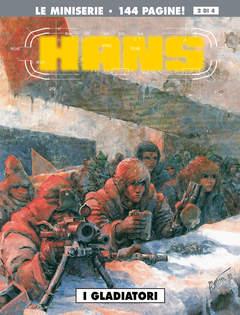 Copertina HANS (m4) n.2 - I GLADIATORI, COSMO EDITORIALE