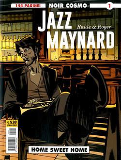 Copertina JAZZ MAYNARD n.1 - JAZZ MAYNARD, COSMO EDITORIALE