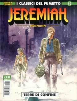 Copertina JEREMIAH n.10 - TYERRE DI CONFINE, COSMO EDITORIALE
