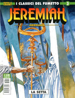 Copertina JEREMIAH n.3 - LA SETTA, COSMO EDITORIALE