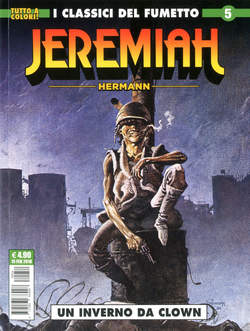 Copertina JEREMIAH n.5 - UN INVERNO DA CLOWN, COSMO EDITORIALE