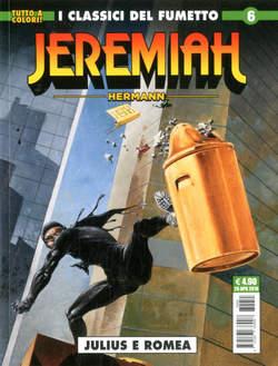 Copertina JEREMIAH n.6 - DELTA, COSMO EDITORIALE