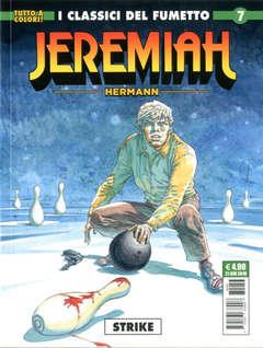 Copertina JEREMIAH n.7 - STRIKE, COSMO EDITORIALE
