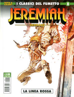 Copertina JEREMIAH n.8 - ALEX, COSMO EDITORIALE