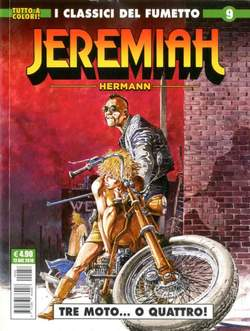 Copertina JEREMIAH n.9 - I MERCENARI, COSMO EDITORIALE