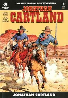 Copertina JONATHAN CARTLAND n.1 - JONATHAN CARTLAND , COSMO EDITORIALE