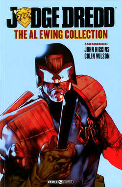Copertina JUDGE DREDD AL EWING COLLECT. n. - JUDGE DREDD AL EWING COLLECTION, COSMO EDITORIALE