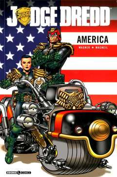 Copertina JUDGE DREDD AMERICA n. - AMERICA, COSMO EDITORIALE