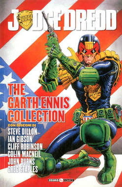 Copertina JUDGE DREDD GARTH ENNIS COLL. n.1 - JUDGE DREDD - THE GARTH ENNIS COLLECTION, COSMO EDITORIALE