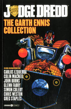 Copertina JUDGE DREDD GARTH ENNIS COLL. n.2 - JUDGE DREDD - THE GARTH ENNIS COLLECTION, COSMO EDITORIALE