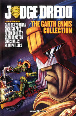 Copertina JUDGE DREDD GARTH ENNIS COLL. n.3 - JUDGE DREDD - THE GARTH ENNIS COLLECTION, COSMO EDITORIALE