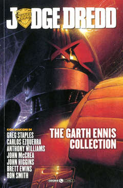 Copertina JUDGE DREDD GARTH ENNIS COLL. n.4 - JUDGE DREDD - THE GARTH ENNIS COLLECTION, COSMO EDITORIALE