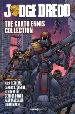 Copertina JUDGE DREDD GARTH ENNIS COLL. n.5 - JUDGE DREDD - THE GARTH ENNIS COLLECTION, COSMO EDITORIALE