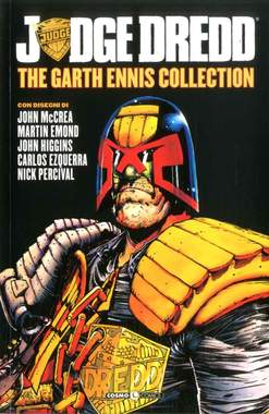 Copertina JUDGE DREDD GARTH ENNIS COLL. n.6 - JUDGE DREDD - THE GARTH ENNIS COLLECTION, COSMO EDITORIALE