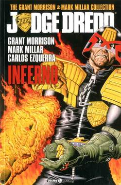 Copertina JUDGE DREDD MORRISON MILLAR C. n.1 - INFERNO, COSMO EDITORIALE