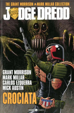 Copertina JUDGE DREDD MORRISON MILLAR C. n.2 - CROCIATA, COSMO EDITORIALE
