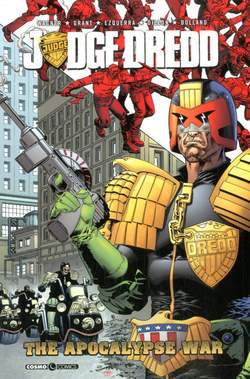 Copertina JUDGE DREDD THE APOCALYPSE WAR n. - THE APOCALYPSE WAR	, COSMO EDITORIALE