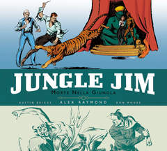 Copertina JUNGLE JIM n.1 - STRISCE DOMENICALI: 1933 - 1944, COSMO EDITORIALE