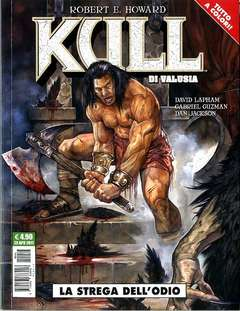 Copertina KULL DI VALUSIA n.1 - LA STREGA DELL'ODIO, COSMO EDITORIALE