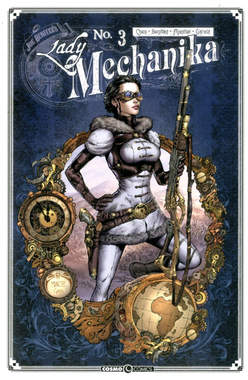 Copertina LADY MECHANIKA n.3 - LADY MECHANIKA, COSMO EDITORIALE