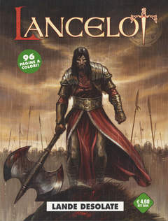 Copertina LANCELOT n.1 - LANDE DESOLATE, COSMO EDITORIALE