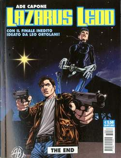 Copertina LAZARUS LEDD THE END n. - THE END, COSMO EDITORIALE