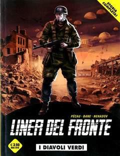 Copertina LINEA DEL FRONTE (m4) n.2 - I DIAVOLI VERDI, COSMO EDITORIALE