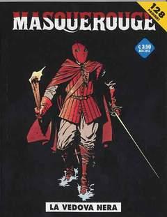 Copertina MASQUEROUGE n.5 - LA VEDOVA NERA, COSMO EDITORIALE