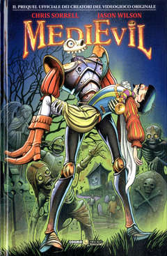 Copertina MEDIEVIL n. - LA BATTAGLIA DI GALLOWMERE, COSMO EDITORIALE