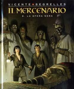 Copertina MERCENARIO n.6 - LA SFERA NERA, COSMO EDITORIALE