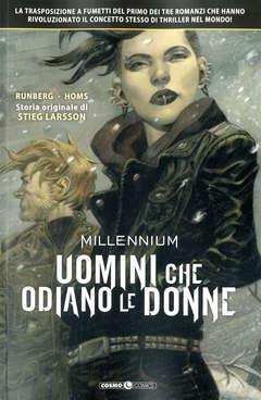 Copertina MILLENNIUM (m3) n.1 - UOMINI CHE ODIANO LE DONNE, COSMO EDITORIALE