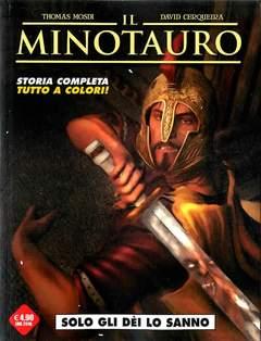 Copertina MINOTAURO n. - SOLO GLI DEI LO SANNO, COSMO EDITORIALE